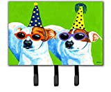 Caroline's Treasures AMB1441TH68 Party Animals Jack Russell Terriers Leash or Key Holder, Large, Multicolor