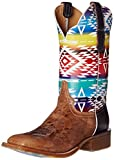 Cinch Edge Women's Fritzy Riding Boot, Aztec Multi, 7 B US