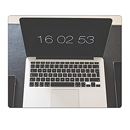 Amazon.com : Simple Minimalistic Home Office Workspace Setup Mousepad  Gaming Mouse Pad 9.8 11.8 Inch : Office Products