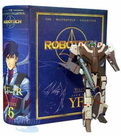 Toynami Robotech Masterpiece Collection Volume 6: Jack Archer's VF-1R Veritech - Macross Valkyrie Collection
