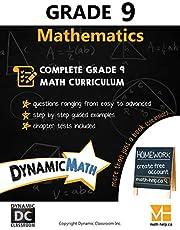 Dynamic Math Workbook - Complete Grade 9 Mathematics Curriculum (AB, SK, MB Edition)