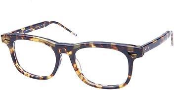 f6f93aafabc THOM BROWNE TB-705-B-TKT-BLK-50 Eyeglasses Tortoise w