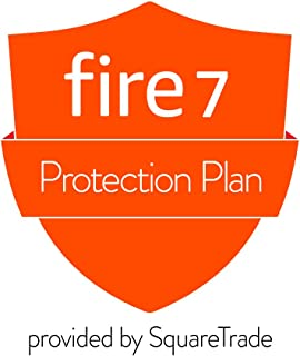 1-Year Protection Plan plus Accident Protection for Fire 7 Tablet (2019 release, delivered via e-mail)