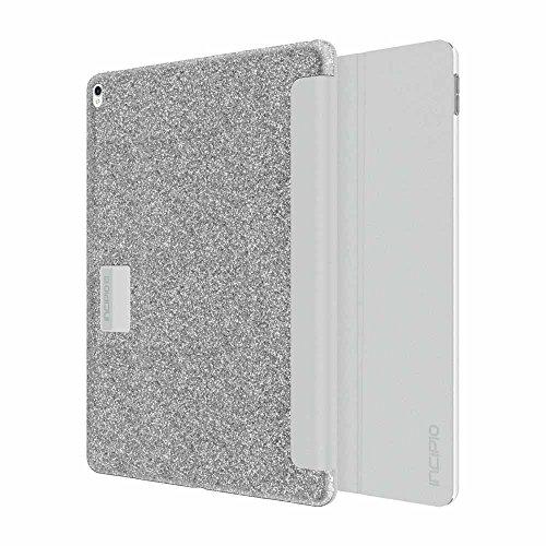 "Incipio Design Series Folio Case for Apple 12.9"" iPad Pro Silver Sparkler IPD-383-SPK"