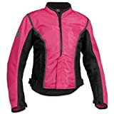 Firstgear Women's Contour Mesh Pink/Black Jacket, XL