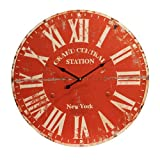 23 in. Round Wall Clock