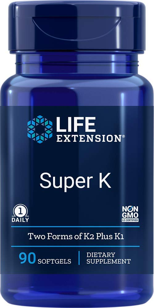 Life Extension Super K, 90 Softgel