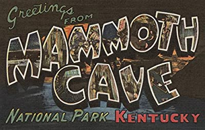 Mammoth Cave, Kentucky - Large Letter Scenes