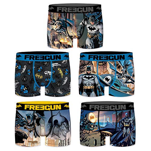77452bbfbad Freegun Batman Bóxers Hombre Para Comics Pack pYTqxp