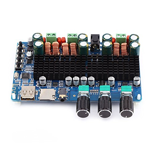 TPA3116 2x50W+100W 2.1 Channel Bluetooth Digital Subwoofer Power Amplifier Board by Jolooyo