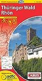 ADFC-Radtourenkarte 17 Thüringer Wald Rhön 1:150.000, reiß- und wetterfest, GPS-Tracks Download und Online-Begleitheft (ADFC-Radtourenkarte 1:150000)