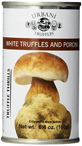(Urbani Truffles Truffle Thrills, White Truffles and Porcini, 6.4 Ounce Can)