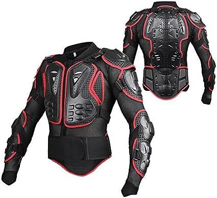 Lacyie Veste Armure Moto Blouson Gilet Protection /Équipement De Motocross Scooter VTT Enduro Homme Ou Femme