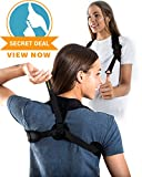 Back Posture Corrector For Women and Men by XO Performance™ - Light and Discreet Posture Brace For Slouching and Hunching - Clavicle support for Relief from Neck, Back, Shoulder Pain & Bad Posture