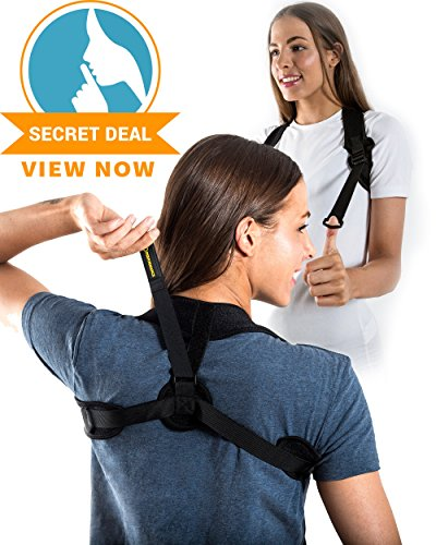Back Posture Corrector For Women and Men by XO Performance™ - Light and Discreet Posture Brace For Slouching and Hunching - Clavicle support for Relief from Neck, Back, Shoulder Pain & Bad Posture by XO Performance