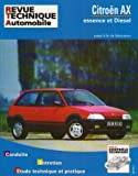 Citroen Ax Essence Et Diesel (French service & repair manuals) (French Edition)
