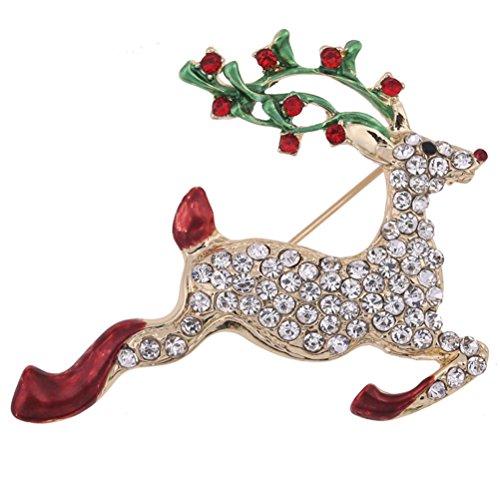 Deer Pin Brooch - 6