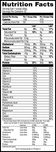 Muscle Milk Genuine Protein Powder, Natural Real Chocolate, 32g Protein, 2.47 Pound by Muscle Milk (Image #4)'
