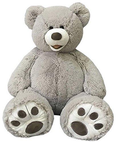 Valentine's 25 Inch Plush Teddy Bear - Grey (Tedy Bear)