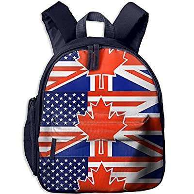 North American British Flag Kids Backpack