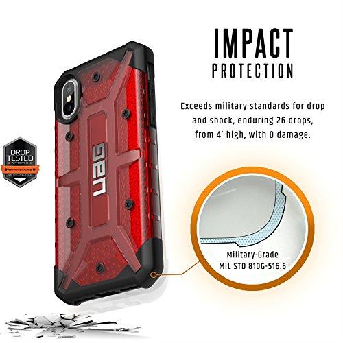 Urban Armour Gear Plasma son Poids Ultra léger robuste Chute militaire Coque pour iPhone 14,7cm X–Magma
