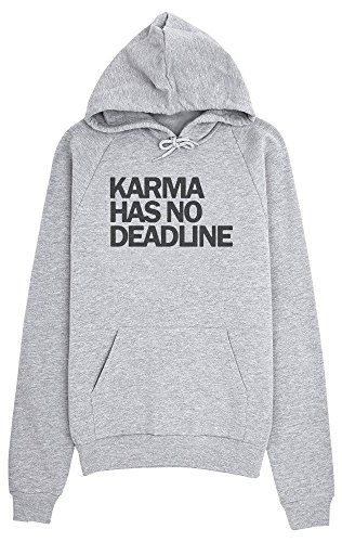 Karma Has No Deadline Women's Hoodie Pullover