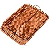 Copper Crisper Tray - 2 Pc Set