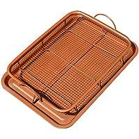 Bandeja de cobre Crisper – Juego de 2 piezas