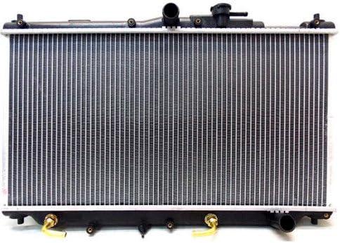 2ROW Performance Aluminum Radiator fit for Honda Prelude S 2.2L MT 1992-1996 New