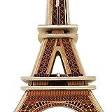 Eiffel Tower Model Kit 3d Puzzles Architecture Wooden Building Kit Wood Nuilding Models Wooden Model Kits 22-pcs