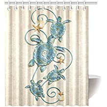 1 16 Of 123 Results For Sea Turtle Shower Curtain