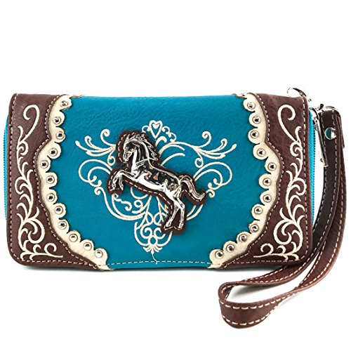 Turquoise Bags And Shoes - 9
