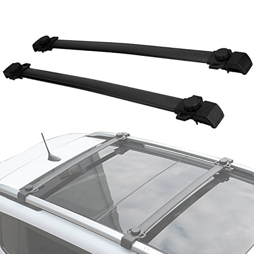 Partol Roof Rack Cross Bars for Jeep Renegade 2014-2017 Luggage Carrier, Pack of 2 -  Partol-203