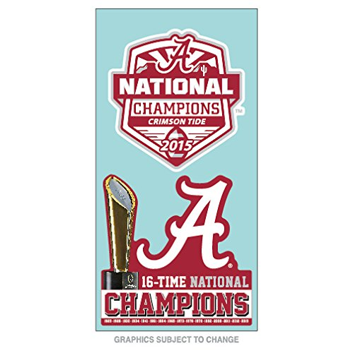(WinCraft Alabama Crimson Tide 2016 CFP Champions 4