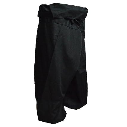 cdf6220c083 Miss Bangkok Jumbo Size Man Women Thai Fisherman Wrap Pants Toray Wild Leg  Baggy Yoga Casual