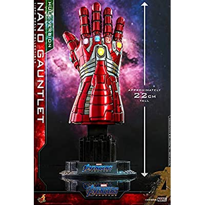 Hot Toys Avengers Endgame Nano Gauntlet Hulk Version Quarter Scale Replica: Toys & Games