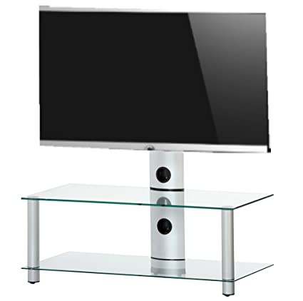 RO&CO MST-0952 TG - Mueble TV de 2 estantes con Soporte de TV.