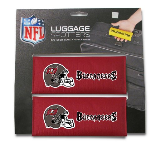 set-of-two-bucs-luggage-spotter-suitcase-handle-wrap-bag-tag-locator-with-id-pocket-closeout-great-g