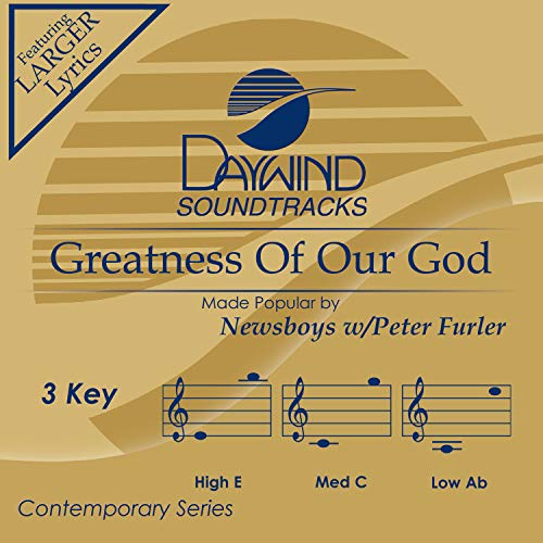 Greatness Of Our God Album Cover