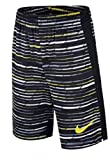 Nike Boys' Dri-Fit Legacy Basketball Shorts, Black/Grey/White/Volt (Medium)