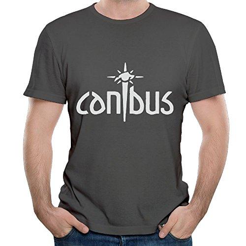 Ngxiuquq Men's Canibus Leisure Jogging DeepHeather T-shirts