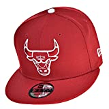 New Era Chicago Bulls NBA 9Fifty Men's Snapback Hat Cap Red/White 70387041
