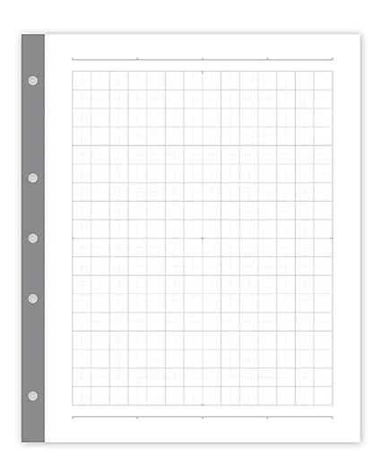 amazon com russell hazel smartgrid 3 ring binder graph paper