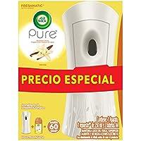 Air Wick Pure Aromatizante Ambiental Freshmatic Aparato y Repuesto, Aroma Vainilla, 250 ml