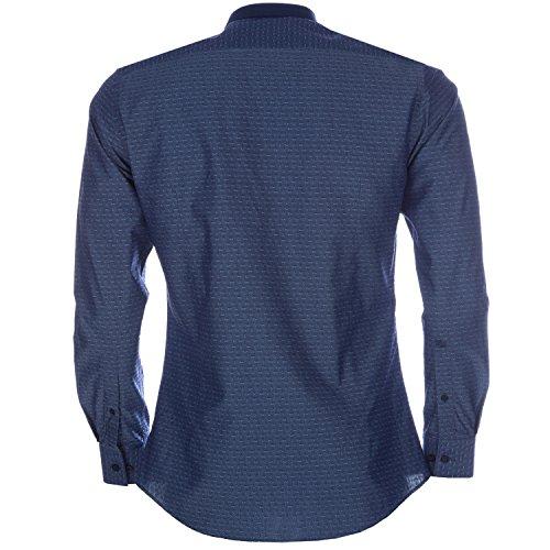 Remus -  Camicia classiche  - Uomo blu Dark Blue 40
