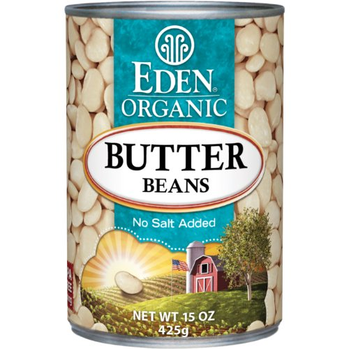 Eden Foods Organic Butter Bean, 15 Ounce -- 12 per case.