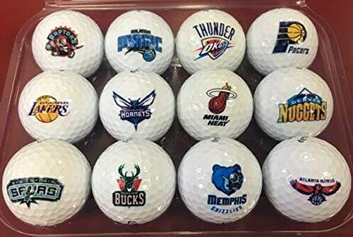 Personalized Basketball Complete Set Logo's All 30 Teams Callaway Warbird Golf Balls + 1 Bonus Ball