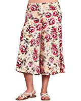 HEYHUN Plus Size Women's Print Wide Leg...