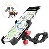 YoWin Bike Phone Mount, 360° Rotation Aluminum Alloy Bicycle & Motorcycle Cellphone Mount Handlebar Holder for 3.5-7″ Wide Phones iPhone Xs|XS Max, XR, X, 8 | 8 Plus, Galaxy S7 8 Note 6