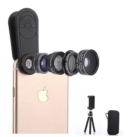 H&Q Lente Externa 5-en-1 de teléfono móvil Lente Gran Angular ...